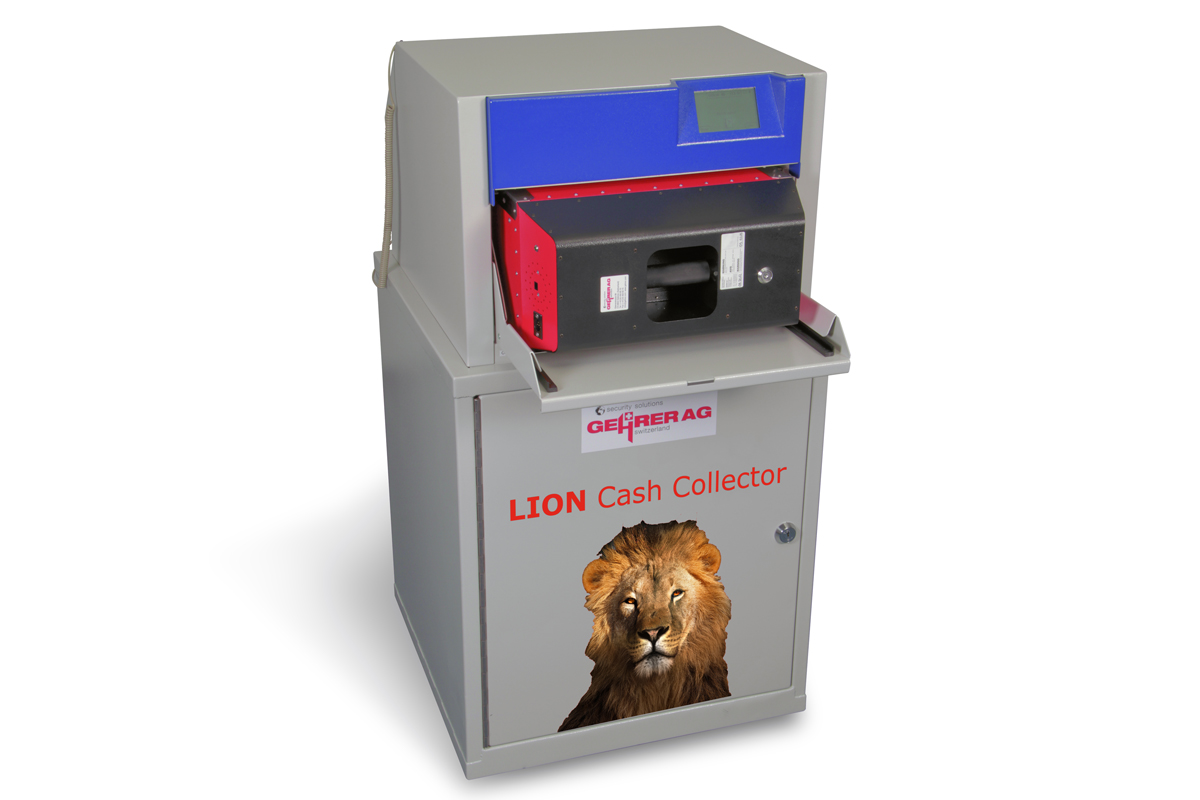 LION Cash Collector